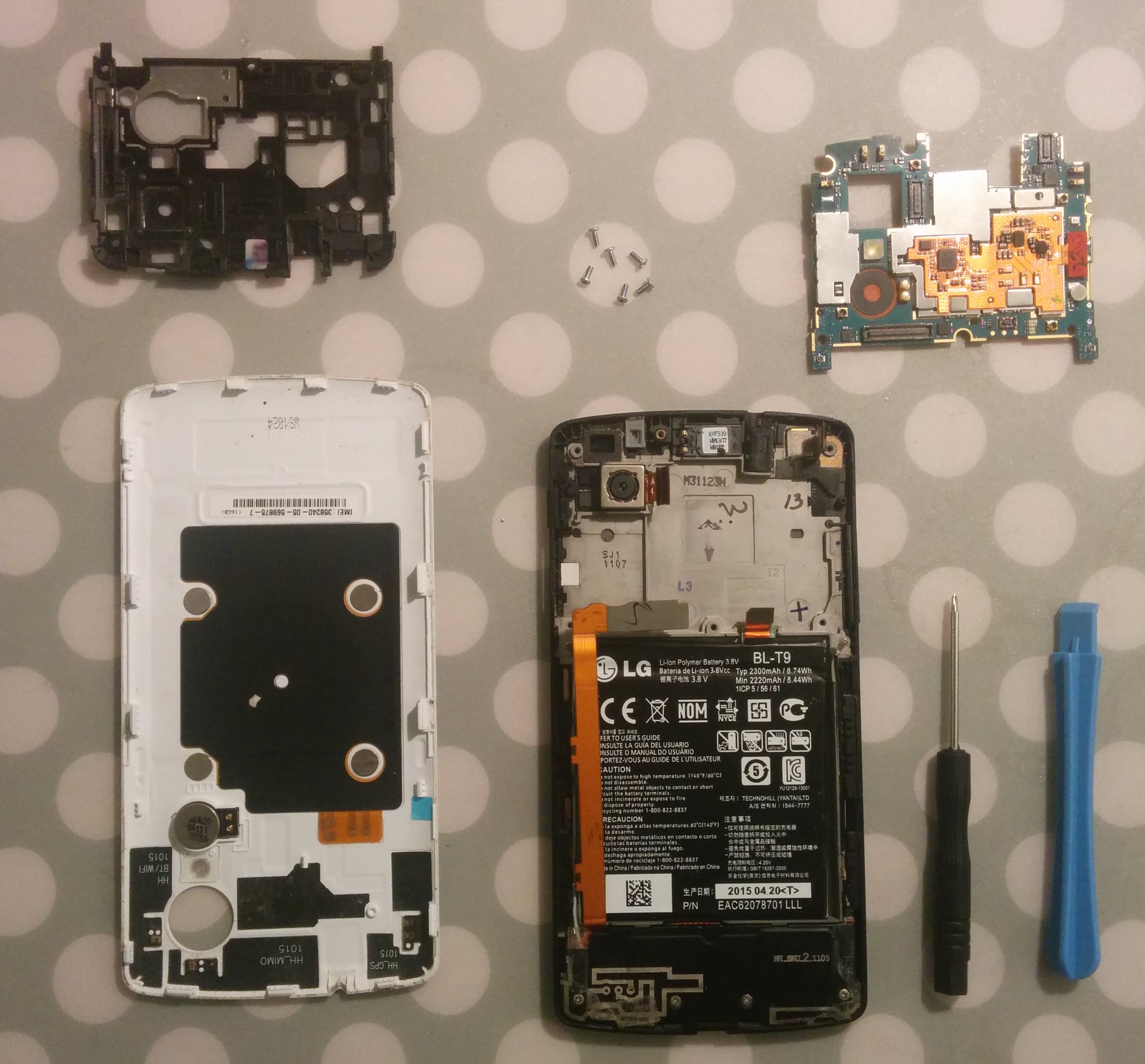 Fixing My Nexus 5 Power Button Issue Frolians Blog 4 Circuit Diagram Desoldering The